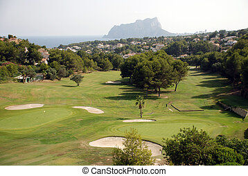 Golf course on the Costa Blanca - The golf course close to...