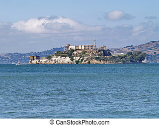 Stock Image of Alcatraz Island Jail in California csp2127766 ...