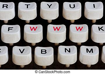 Macchina scrivere, tastiera