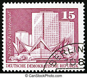 Postage stamp GDR 1973 Fishermans Island, Berlin - GDR -...