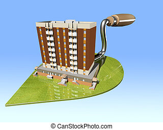 The concept of ecological housing construction