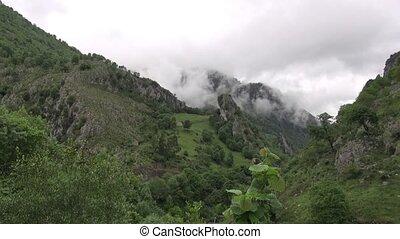 Asturias mountains fast