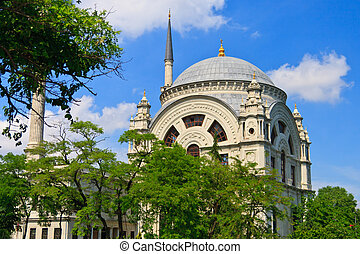 Istanbul Dolmabahce Mosque, Turkey - Istanbul Dolmabahce...