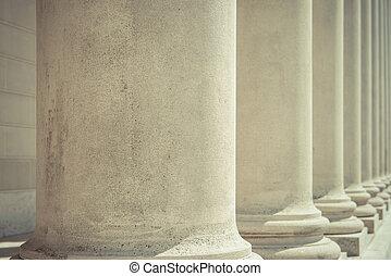 fundação, pilares