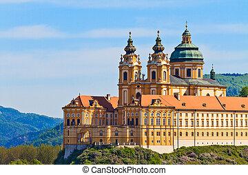 Melk - Famous Baroque Abbey (Stift Melk), Austria - Melk...