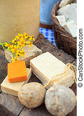 Homemade soaps - Photo of natural Homemade soaps