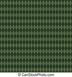 Seamless Green Diamond Background