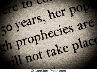 Prophecy of future