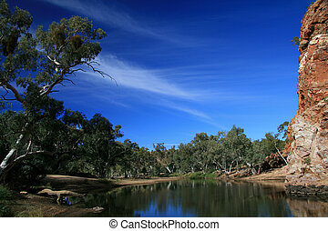 River - Ormiston Gorge, Australia