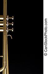 trompete, fundo