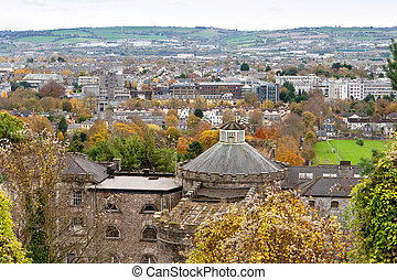 Cork, Ireland - View of Cork County Cork, Ireland In the...