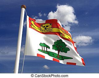 Prince Edward Island flag Canada