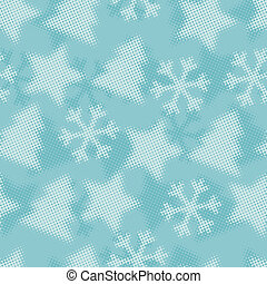 Christmas and Holidays seamless pattern.