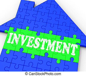 Investment House Means Investing In Real Estate - Investment...