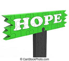 Hope Sign Shows Faith Prayer Wishes - Hope Sign Shows Faith...