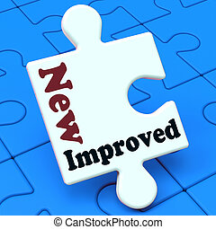 New Improved Means Development To Upgrade Product - New...