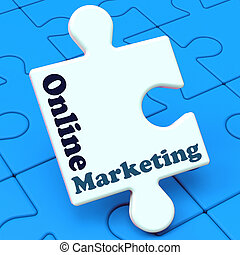 Online Marketing Shows Internet Strategies And Development -...
