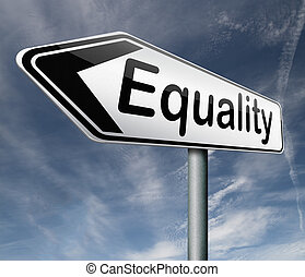equality equal rights and opportunities for all women man...