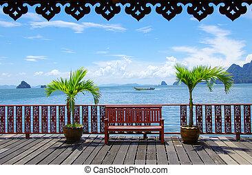 Krabi Thailand - Beautiful tropical sea, Krabi Thailand