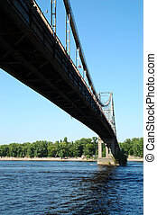 bridge1 - bridge across Dnepr in Kiev