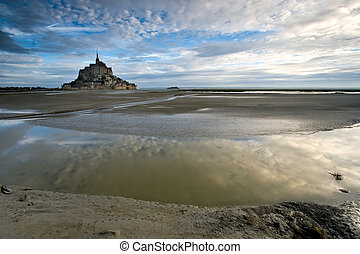 Bay Le Mont St Michel, Normandy France