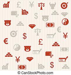 Finance seamless pattern 2