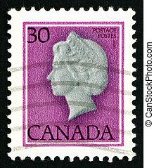 Postage stamp Canada 1982 Queen Elizabeth II, Queen of England