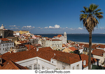 Lisbon Lisboa - capital of Portugal