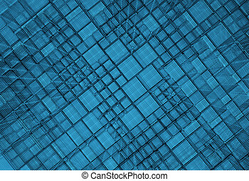 Blue Medical science background - Blue Medical and science...