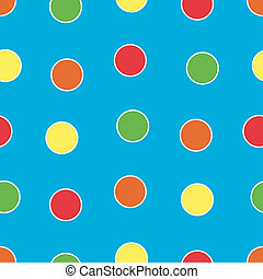 Bright Polka Dots