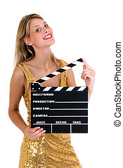 Hollywood Female actress - Young attractive female actress...
