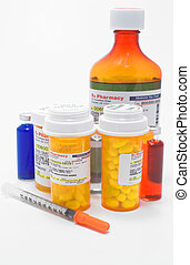 Prescription Medication - A variety of prescription...
