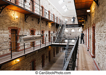 City Gaol Cork, Ireland - Cork City Gaol Now historical jail...