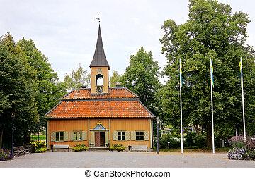 Sigtuna, Sweden - Town hall at Sigtuna, Sweden