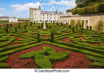 Azay-le-Rideau chateau, France - Azay-le-Rideau chateau in...