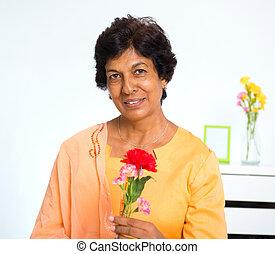 Mature Indian woman