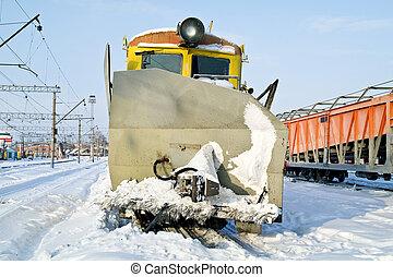 Snow-removal technique