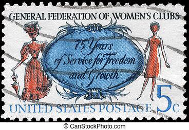 USA - CIRCA 1966 Women
