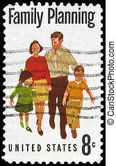 USA - CIRCA 1972 Family