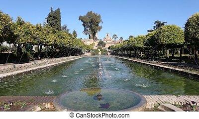 Alcazar palace gardens, Cordoba