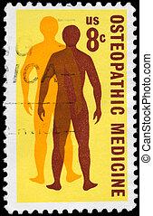 USA - CIRCA 1972 Osteopathic Medicine - USA - CIRCA 1972: A...
