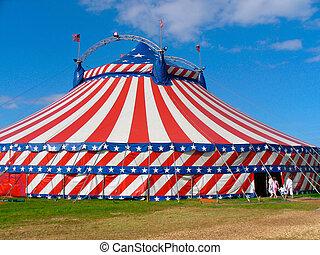 Dia, saída, Circo
