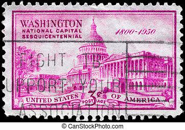 USA - CIRCA 1950 Capitol