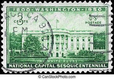 USA - CIRCA 1950 Executive Mansion