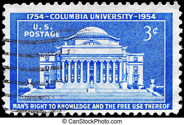 USA - CIRCA 1954 Columbia University - USA - CIRCA 1954: A...