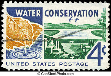 USA - CIRCA 1960 Water Conservation - USA - CIRCA 1960: A...