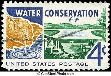 USA - CIRCA 1960 Water Conservation - USA - CIRCA 1960: A...