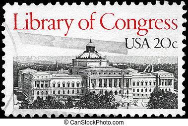 USA - CIRCA 1982 Library of Congress