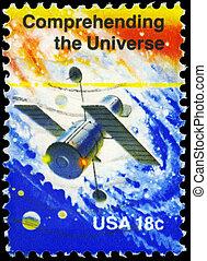 USA - CIRCA 1981 Comprehending the Universe - USA - CIRCA...