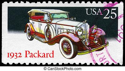 USA - CIRCA 1988 Packard
